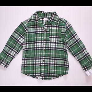 Carter's baby boy flannel shirt